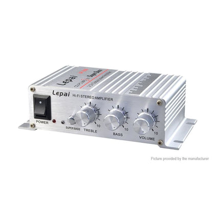 Lepy LP-268 12V Super Bass Home Car Power Amplifier - LEPY269S Black US (w/ Bluetooth) - Amplifiers