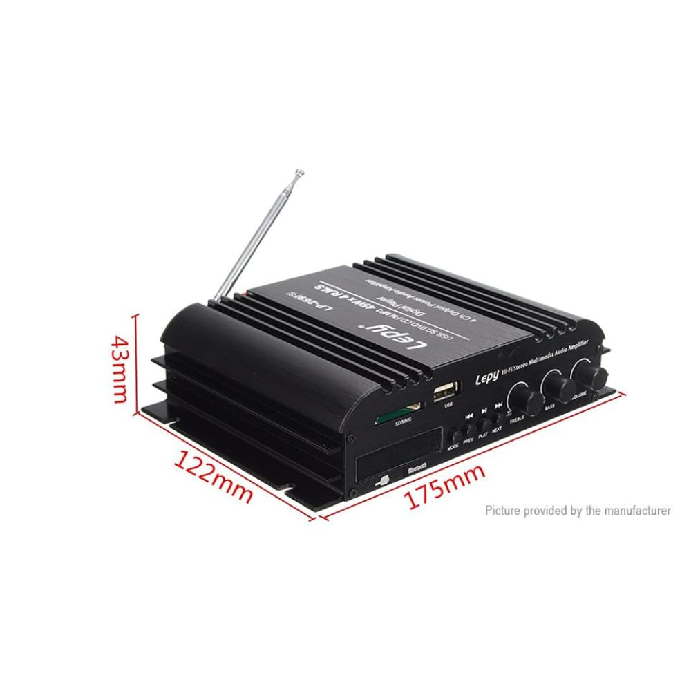 -Fi Audio CD Lepy 269FS Car Bluetooth V4.0 Artists (EU) - Amplifiers