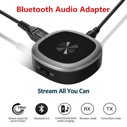 Bluetooth 4.1 Transmitter And Receiver - Audio & Video Gadgets