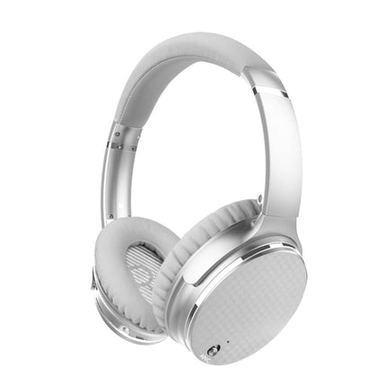Head-mounted Bluetooth Headphone Silver - Audio & Video Gadgets