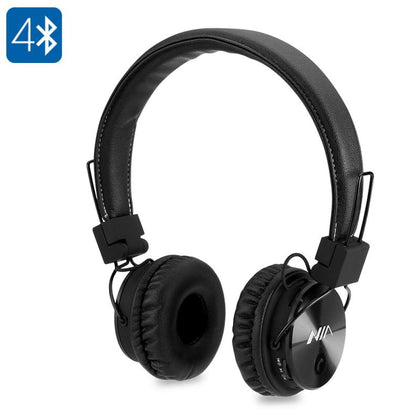 NIA X3 Bluetooth Headphones - Audio & Video Gadgets
