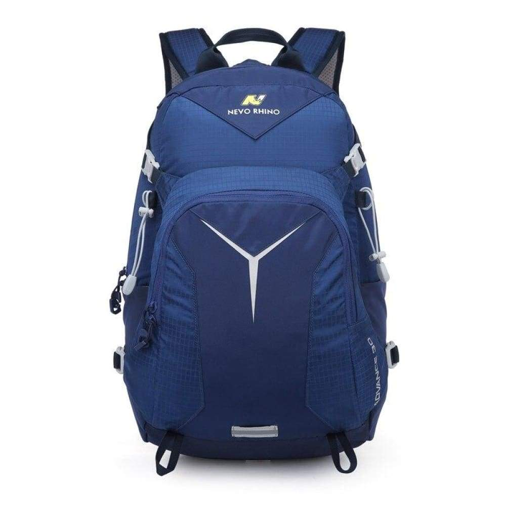 Scandere IMPERVIUS hiking Outdoor Mountaineering mens Backpack nevo RHINO 30L Men Bag - caeruleo - Fusce