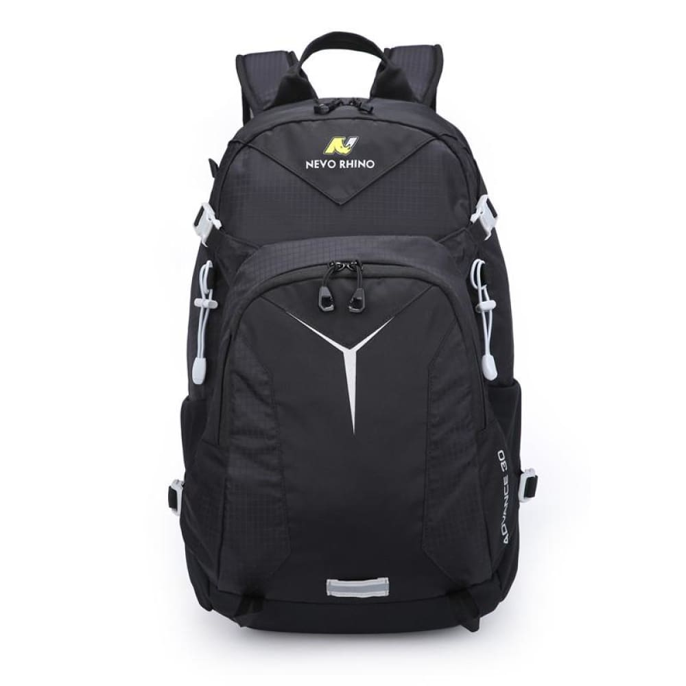 Scandere IMPERVIUS hiking Outdoor Mountaineering mens Backpack nevo RHINO 30L Men Bag - Black - Fusce