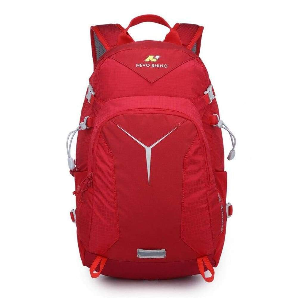 Scandere IMPERVIUS hiking Outdoor Mountaineering mens Backpack nevo RHINO 30L Men Bag - Red - Fusce