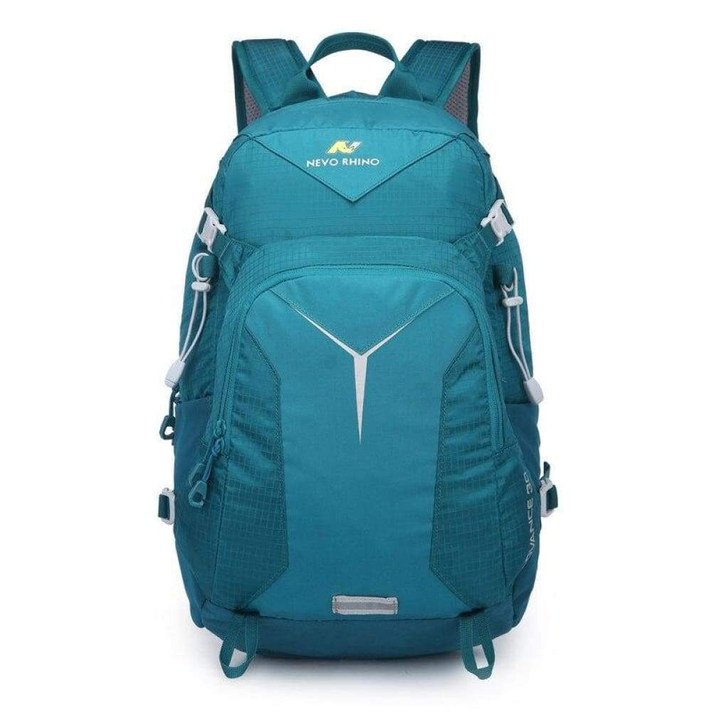 Scandere IMPERVIUS hiking Outdoor Mountaineering mens Backpack nevo RHINO 30L Men Bag - Tenebris viridis - Fusce