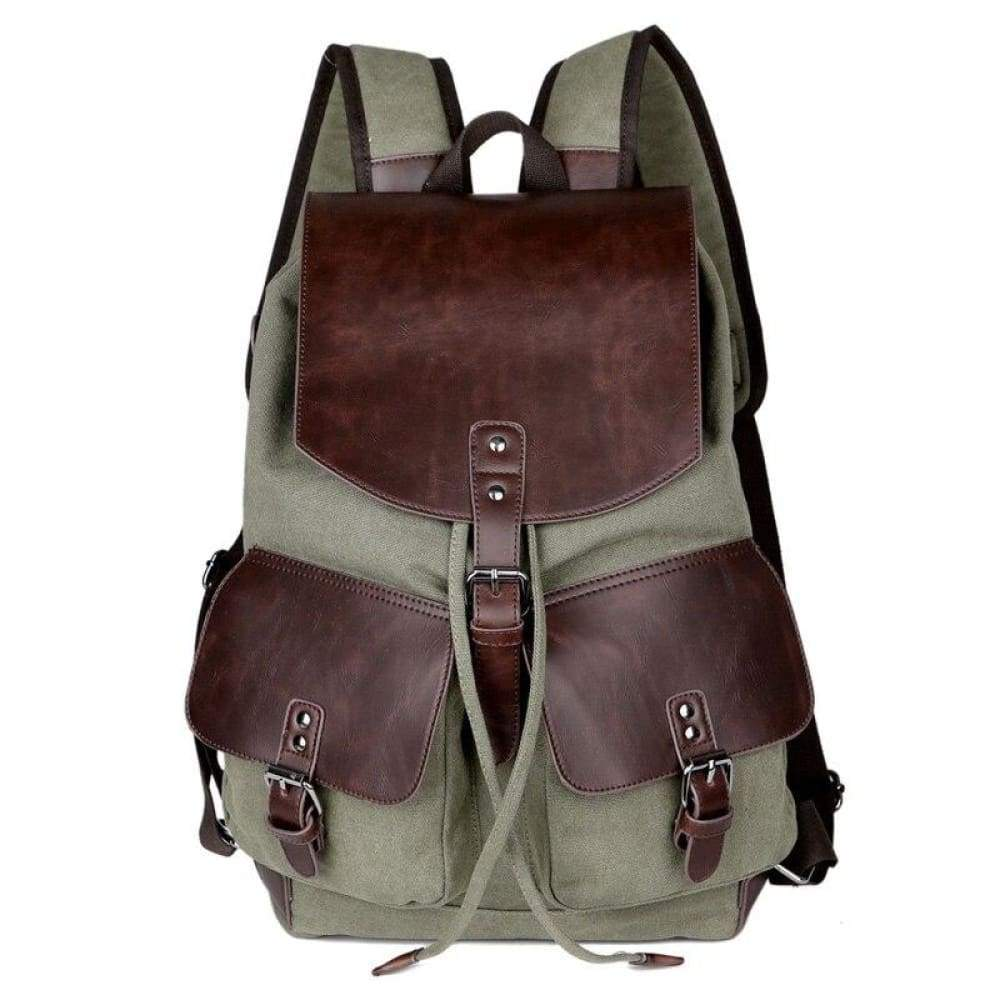 Mens Causal Bag High quality Laptop Travel Bags for Boys & Girls - green - Backpacks