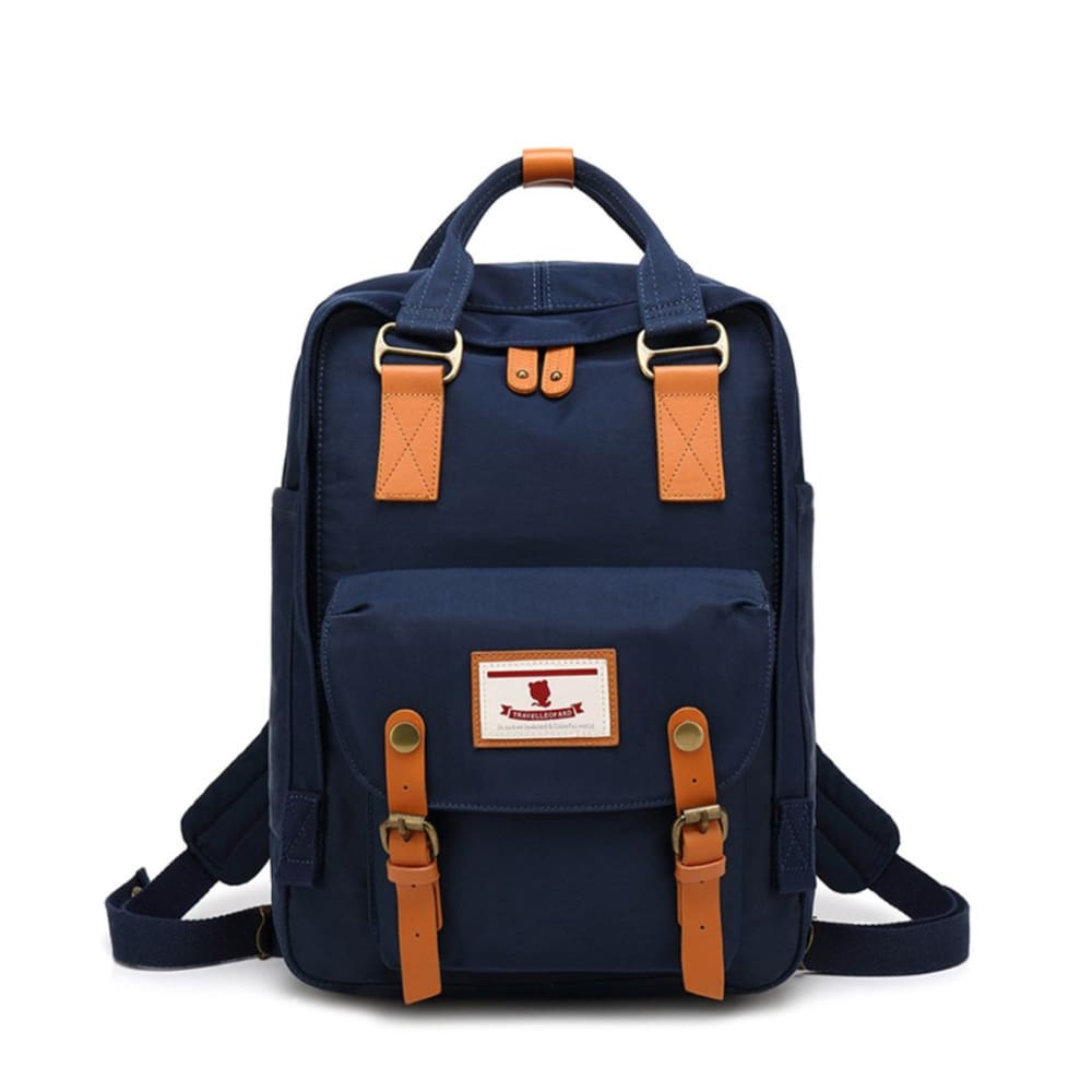 School Waterproof Backpack 14.9 College Vintage Travel Bag for Women 14 inch Laptop Student - Style-13 - Backpacks $35.99 Free Shipping
