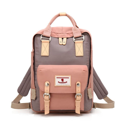 School Waterproof Backpack 14.9 College Vintage Travel Bag for Women 14 inch Laptop Student - Style-01 - Backpacks $35.99 Free Shipping