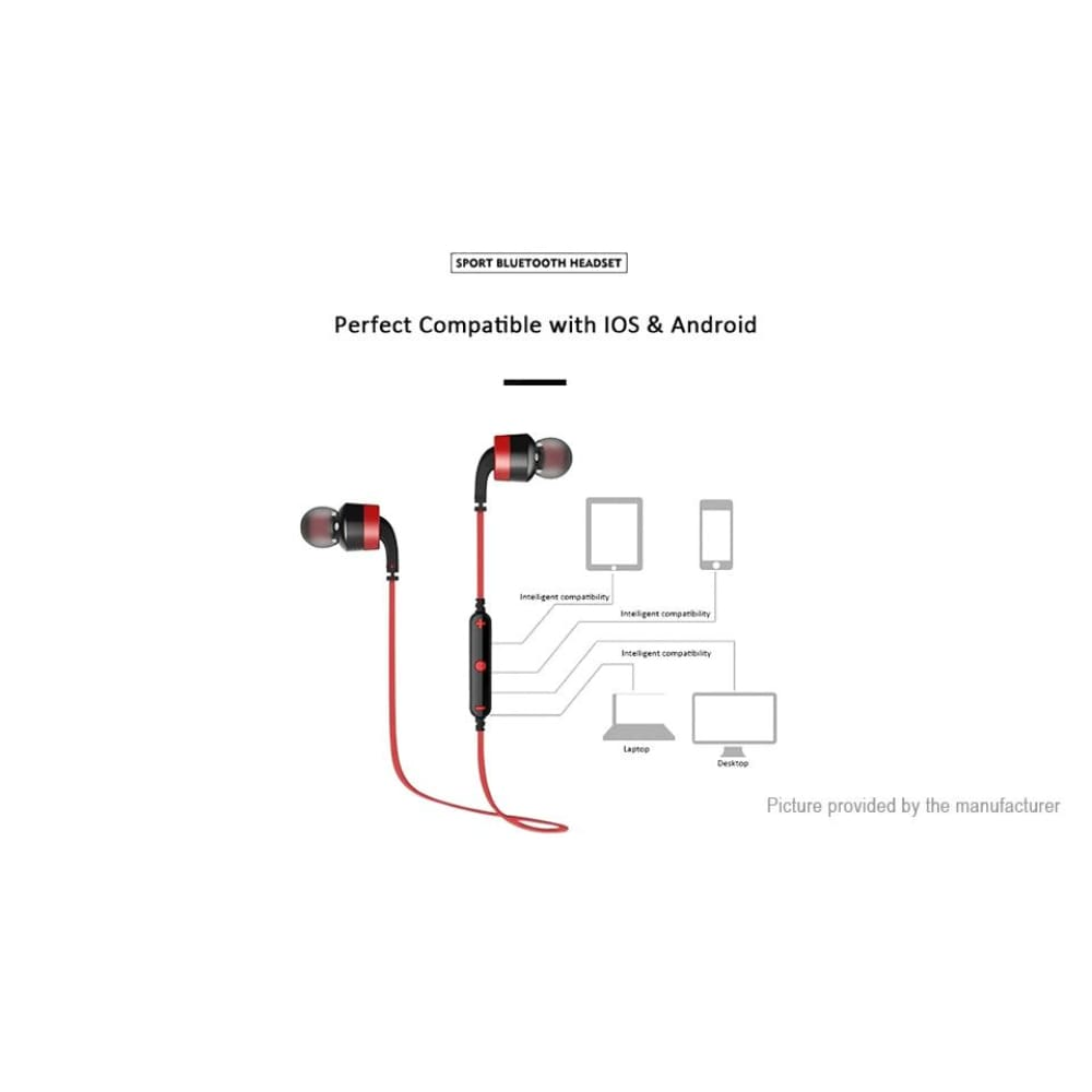 Tolle A960BL Miscellaneous germanis Bluetooth Headset V4.0 Orff - Headsets