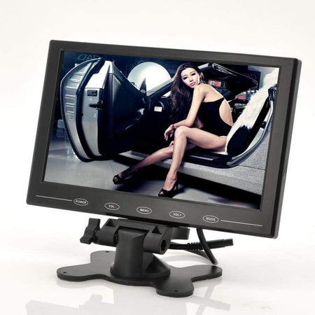 9 Inch TFT LCD Monitor For In-Car Headrest - Car Video
