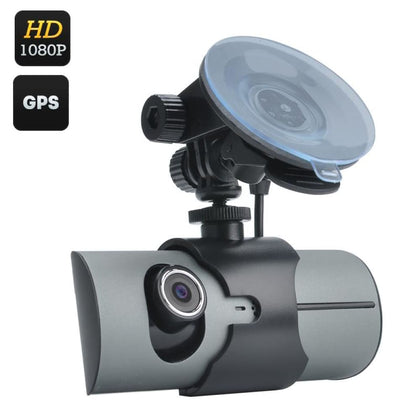 Dual Camera Car DVR - Video