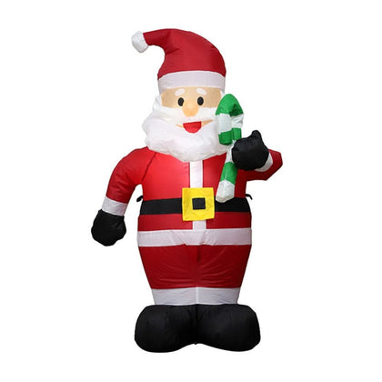 1.2M Tall Christmas Inflatable Santa Claus - Cheap & Cool Gadgets