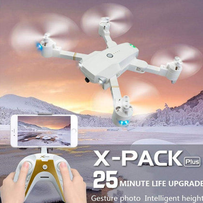 Drone Platinum Edition Flight 20 Minute UAV Smart Follow HD Camera Rc Helicopter One Return / Landing Quadcopter