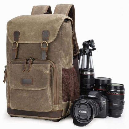 2019 Spring Festival New Shoulder Camera Bag Retro Men and Women waterproof Liner Lens SLR Digital camera bags