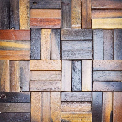 A15004 - Reclaimed Wood Wall Cladding 10.66 Sq.Ft