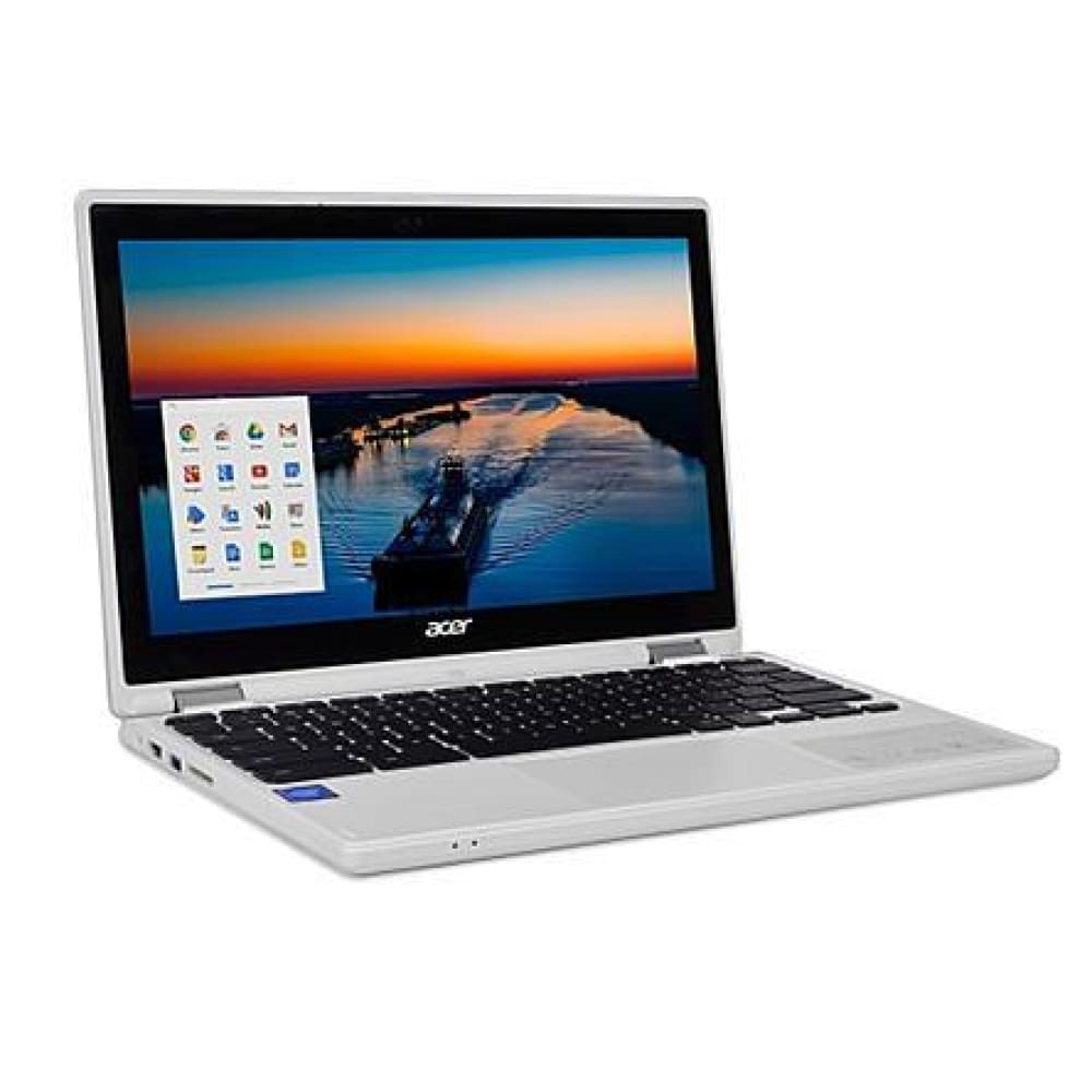 Acer 11.6 R 11T N2840 4G 32GB Chromebook - Denim White