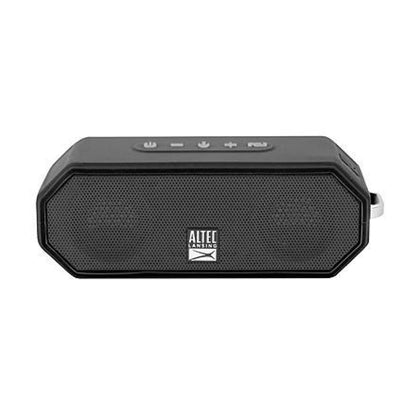 Altec Lansing IMW-449-BLK Jacket H2O Bluetooth Wireless Speaker Black