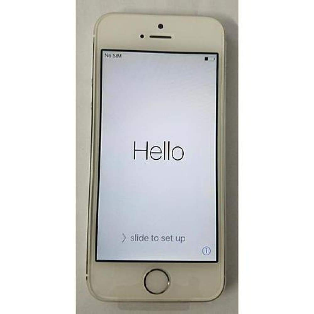 Apple 16GB GSM Factory Unlocked iPhone 5s - White
