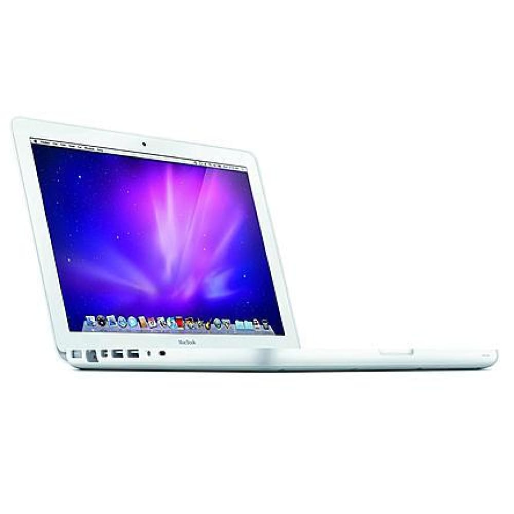 Apple MC516LL/A 13.3 Refurbished MacBook with Intel Core 2 Duo 2.4GHz Processor