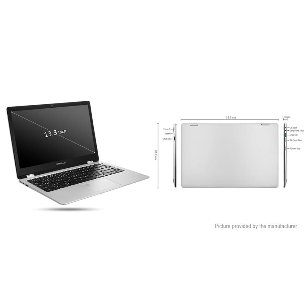 Authentic TECLAST F6 Pro 13.3 IPS Dual-Core Notebook (128GB/US)