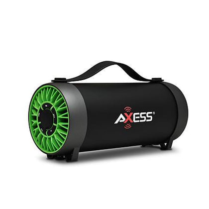 Axess 970109525M Bluetooth Media Speaker with Equalizer in Green