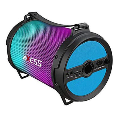 Axess 97098069M Bluetooth Media Speaker with Wired Mic in Blue