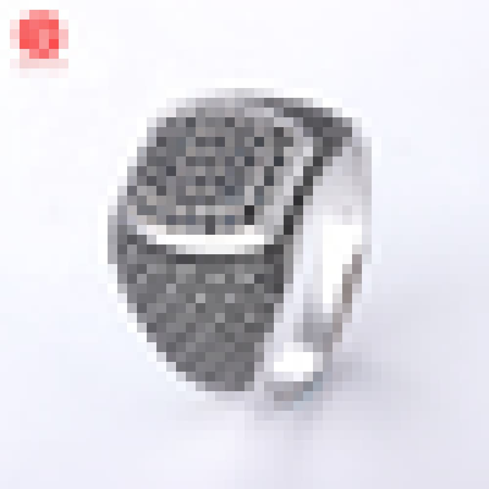 Black Cubic Zirconia Ring Micro Pave CZ Rings by Simply