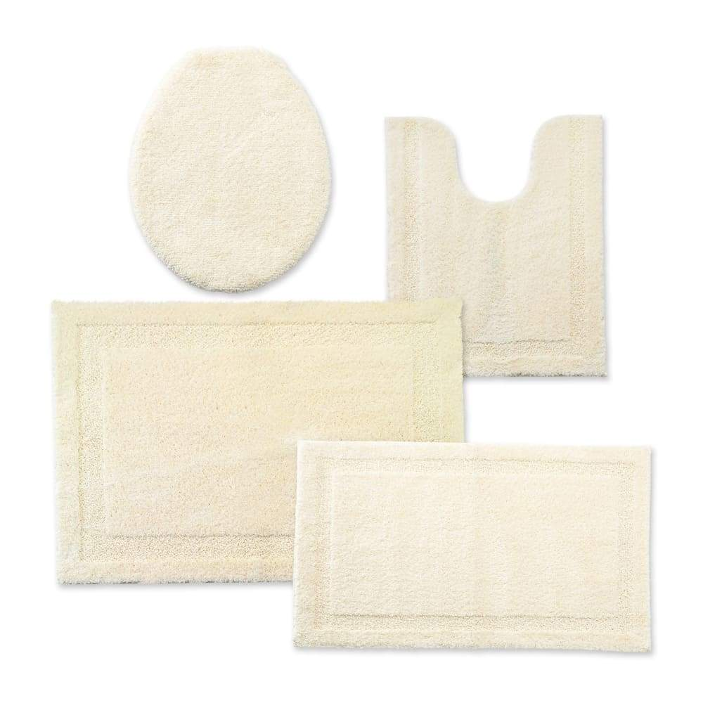 Cannon Bath Rug Universal Lid or Contour - 25.5 in. x 37 / Ivory