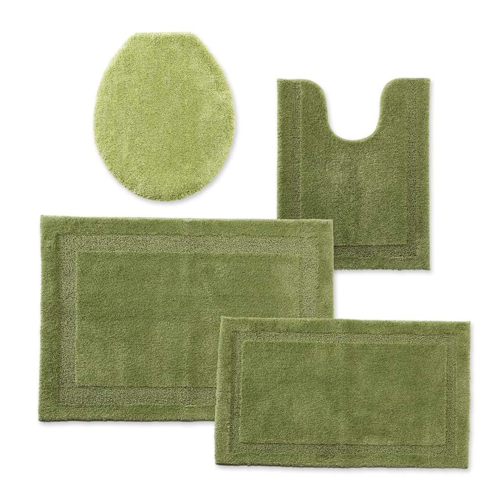 Cannon Bath Rug Universal Lid or Contour - 25.5 in. x 37 / Sage