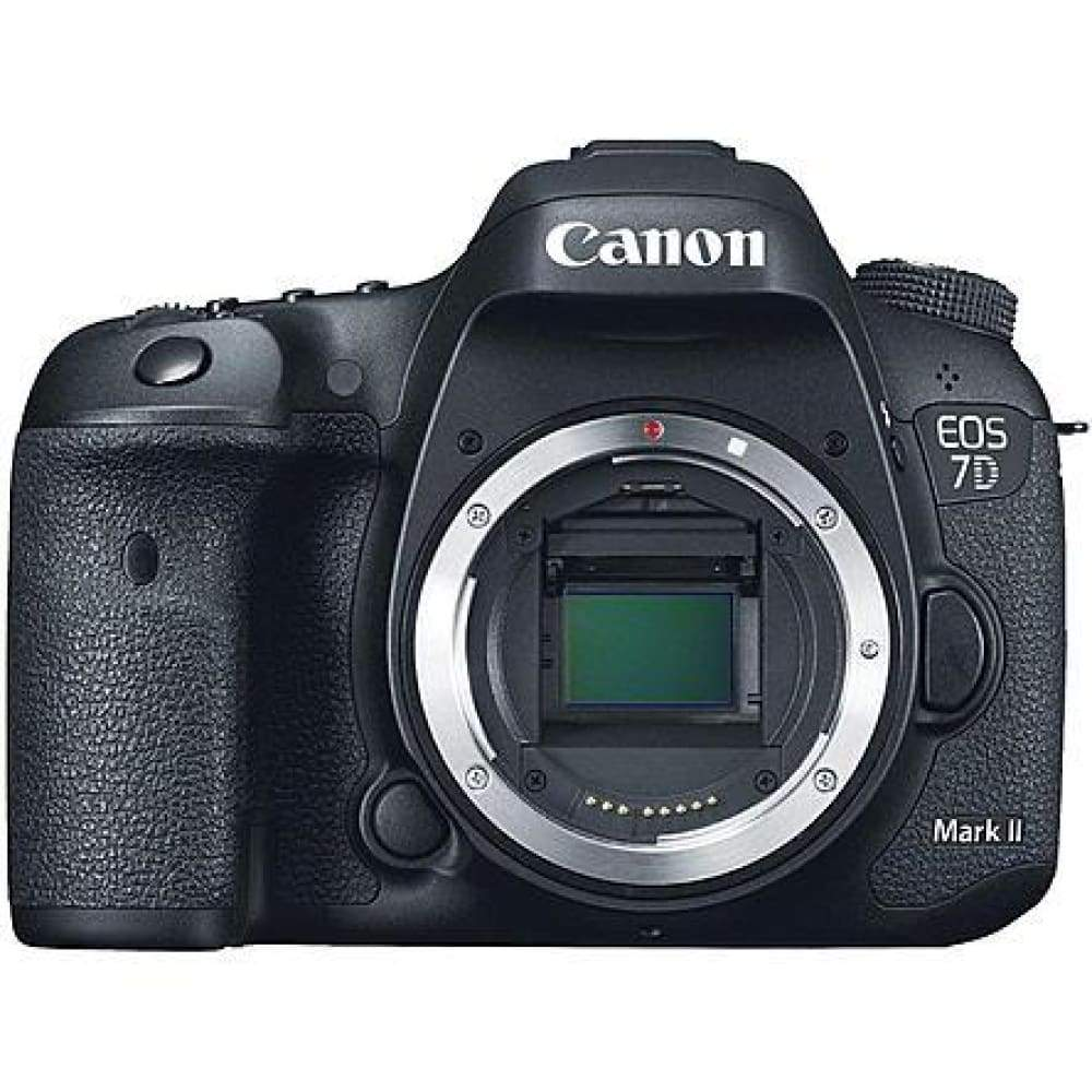 Canon 9128B002 20.2MP EOS 7D Mark II DSLR Camera Body with Accessories