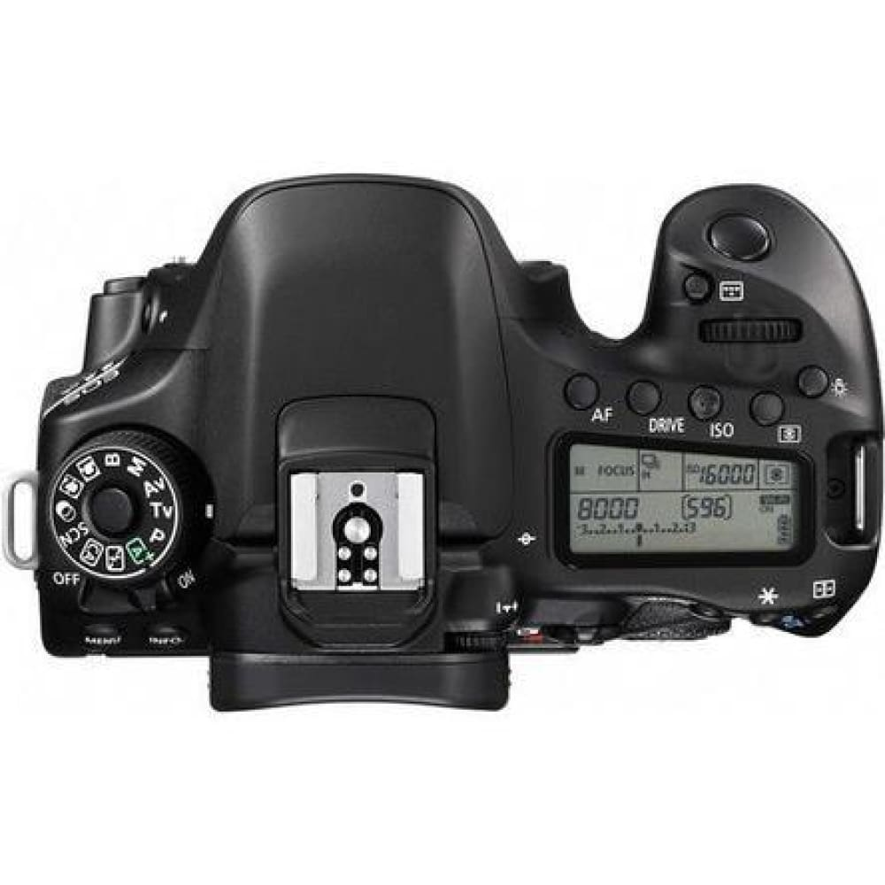 Canon EOS 80D 24.2MP Digital SLR Camera (Black) - Body Only