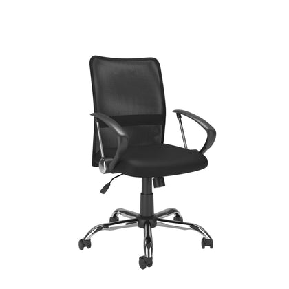 CorLiving Office Chair with Contoured Mesh Back - Black