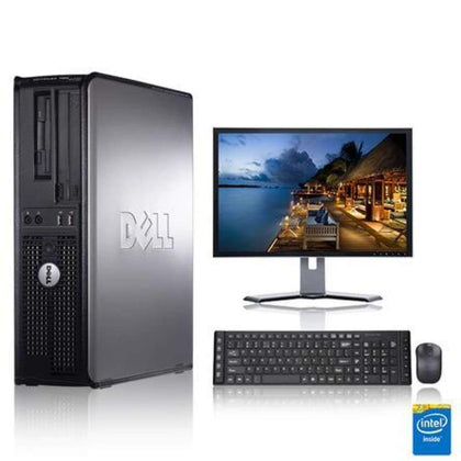 Dell Optiplex 3.0 GHz Core 2 Duo PC 8GB 1 TB HDD Windows 10 Home x64 19 Monitor Wireless Mouse & Keyboard