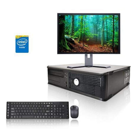 Dell Optiplex 3.3 GHz Core 2 Duo PC 4GB 500 GB HDD Windows 10 Home x64 19 Monitor USB Mouse & Keyboard