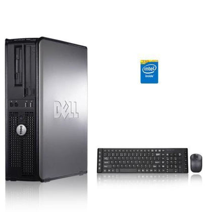 Dell Optiplex 3.3 GHz Core 2 Duo PC 6GB 250 GB HDD Windows 10 Home x64 USB Mouse & Keyboard
