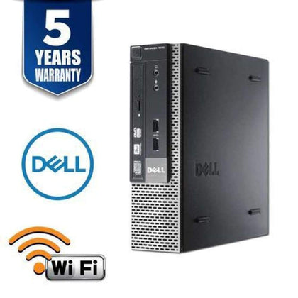 DELL OPTIPLEX 7010 SFF I5 3570 3.4 GHZ DDR3 4.0 GB 500GB dvd WIN 10 HOME 5YR WTY USB WIFI- RREFURBISHED