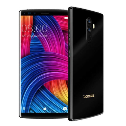Doogee Mix 2 6GB 128GB Mobile Phone 5.99 Inch 18:9 Screen MTK6757CD Octa Core Android 7.1 16.0+13.0MP 8MP 4 Camera Fingerprint