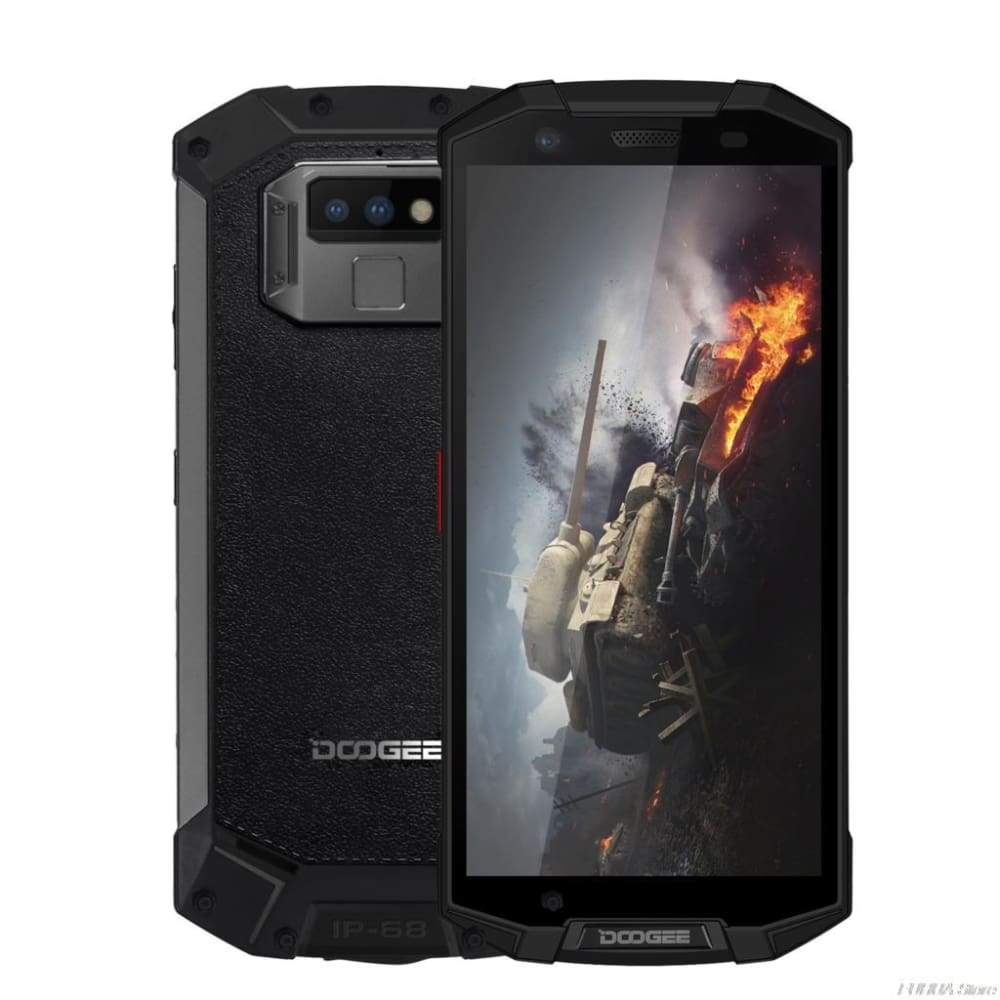 DOOGEE S70 6GB 64GB MTK6763 Octa Core P23 IP68 IP69K 5.99FHD+ Wireless Charger NFC 16MP+12MP Dual Back Cams Game Mobile Phones
