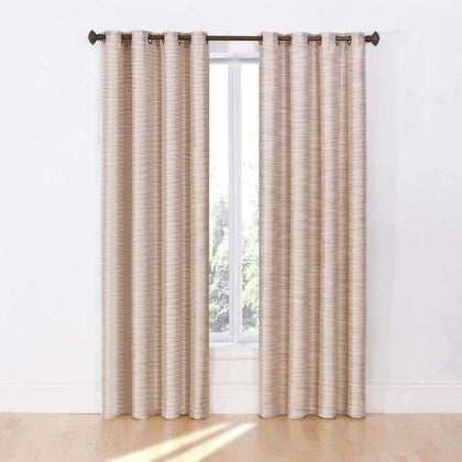 eclipse 2-pack Dylan Thermalayer Blackout Window Curtains - Marble / 52X84