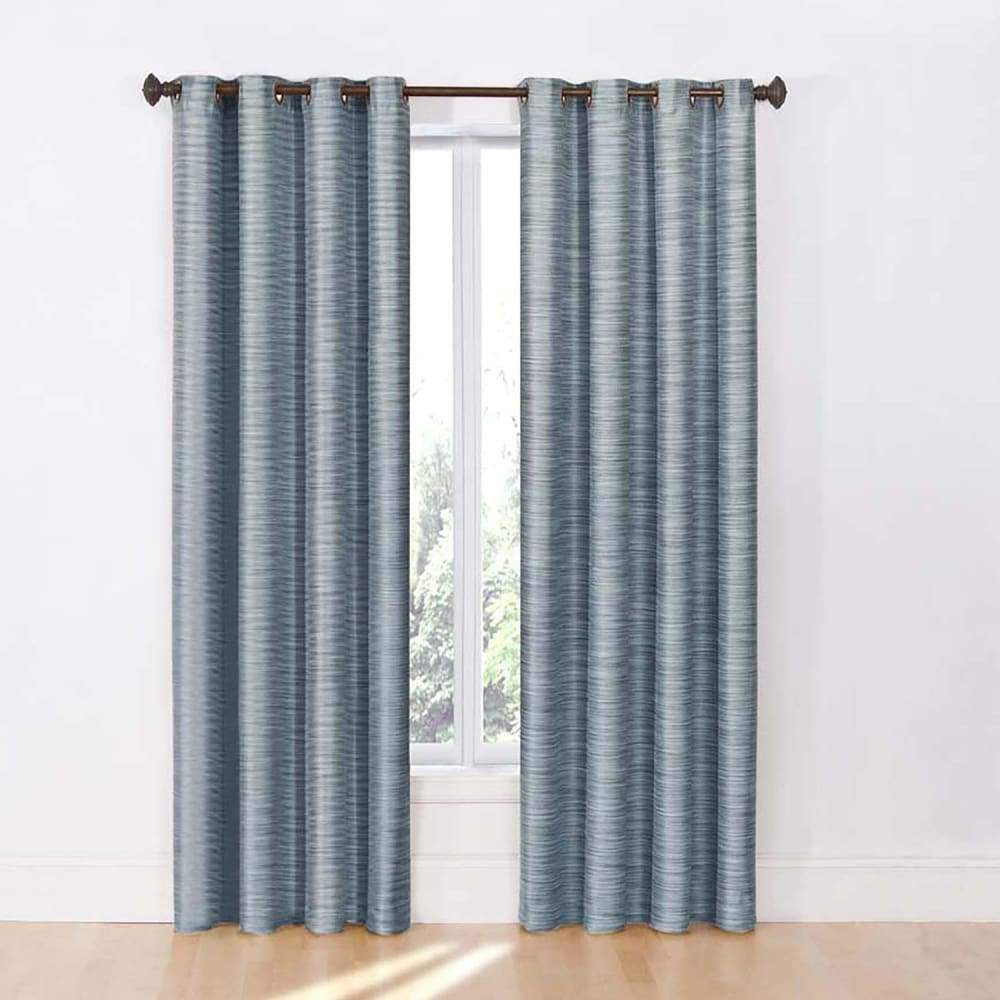 eclipse 2-pack Dylan Thermalayer Blackout Window Curtains - Lake / 52X84
