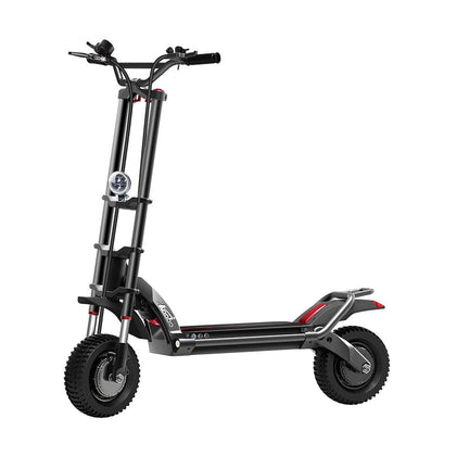 Electric Scooter with Hydraulic shock absorption Wolf Warrior II New Design 11inch 60V 35AH
