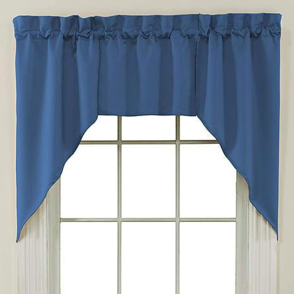 Essential Home Mix and Match Solid 3 Pc. Jabot Valance Set