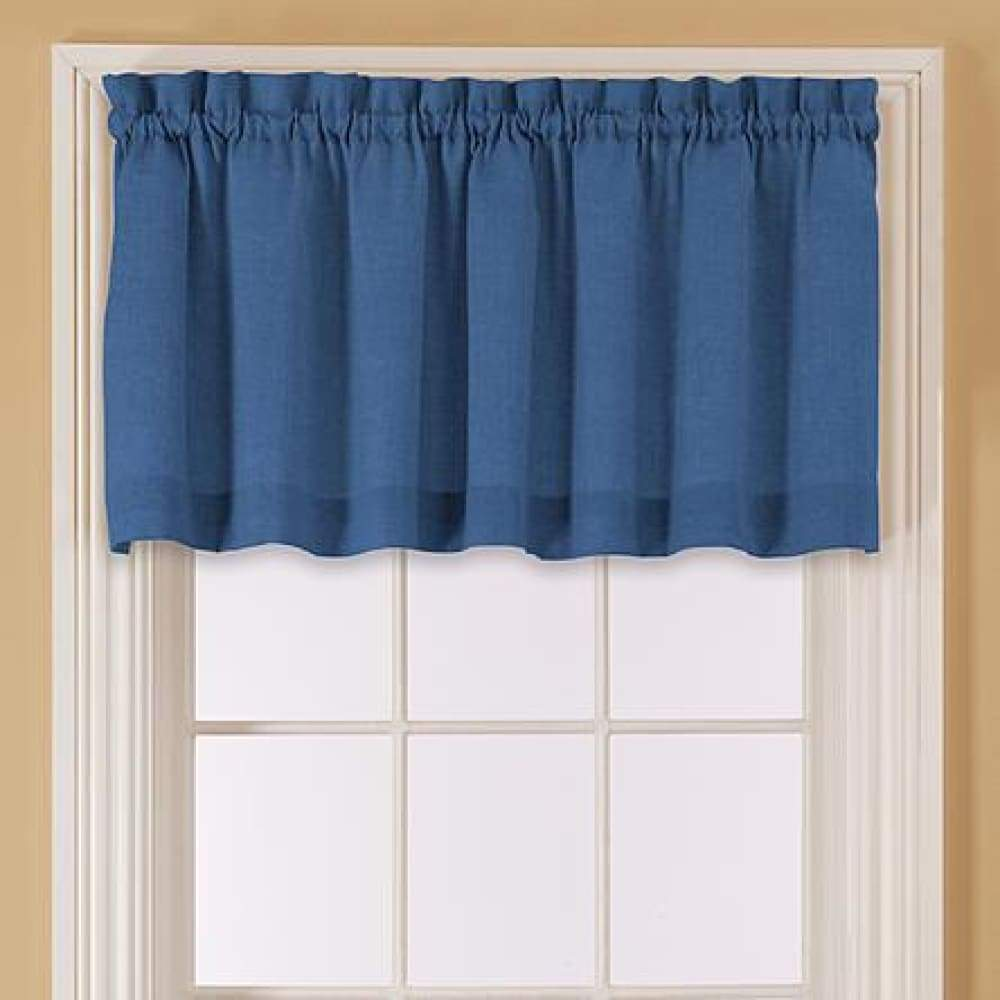 Essential Home Mix and Match Solid Window Valance 60 x 16