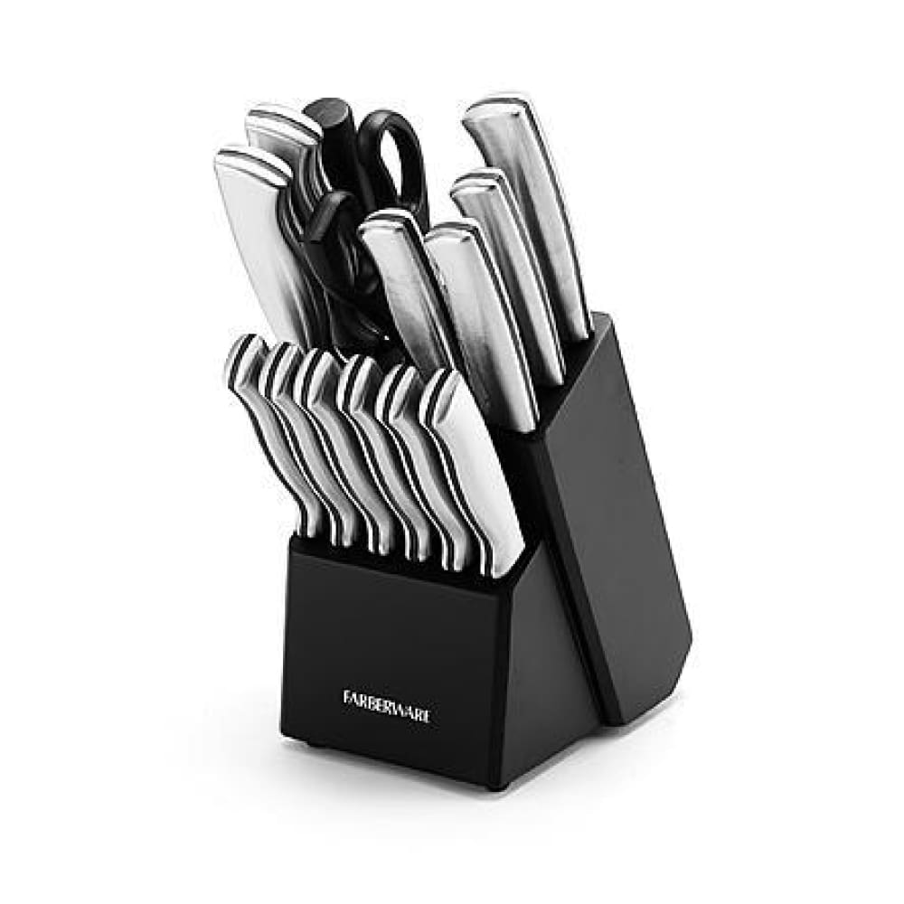 Faberware 15-pc. Stamped Stainless Steel Set