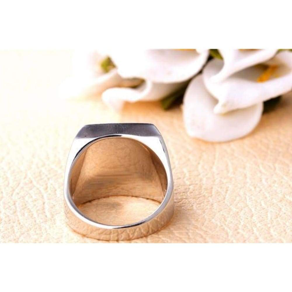 Finger Silver Ring For Men Turkey Designs Jewelry Black