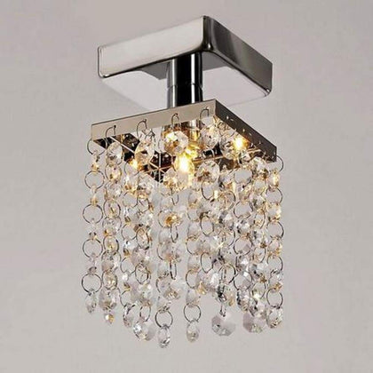 FIRSTBUY Free Delivery Elegant Pendant Ceiling Lighting Lamp Flush Mount Chandelier Stainless Steel
