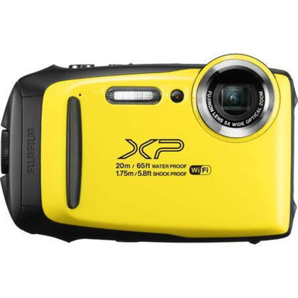 Fujifilm FinePix XP130 Shock + Waterproof Wi-Fi Digital Camera (Yellow)