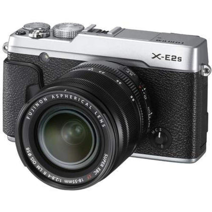 Fujifilm X-E2S Wi-Fi Digital Camera + 18-55mm XF Lens (Silver)