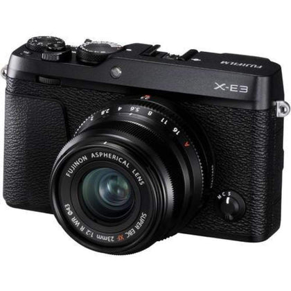 Fujifilm X-E3 4K Digital Camera + 23mm f/2 XF Lens (Black)