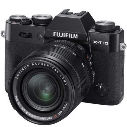 Fujifilm X-T10 Digital Camera + 18-55mm XF Lens (Black)